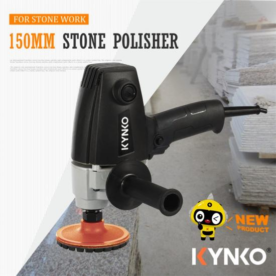 150mm Powerful Industrial plastic body Stone Polisher