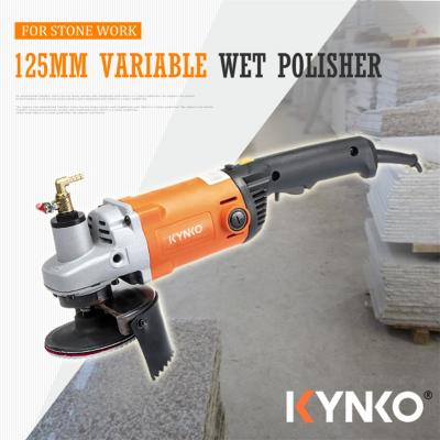 125mm variable speed wet angle grinder